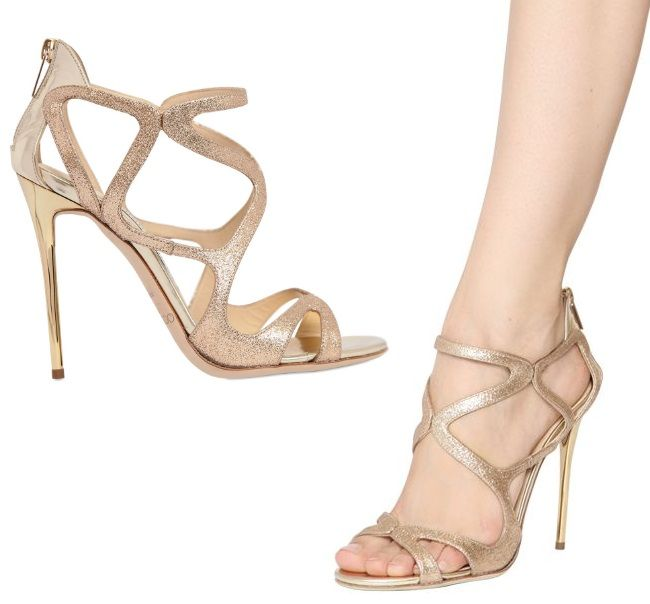 check-out 53e3c 68cfc Jimmy Choo Leslie sandales | Chaussures | Chaussure ...