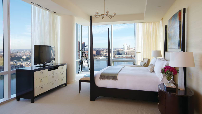 four seasons baltimore presidential suite black poster bed in rh pinterest com
