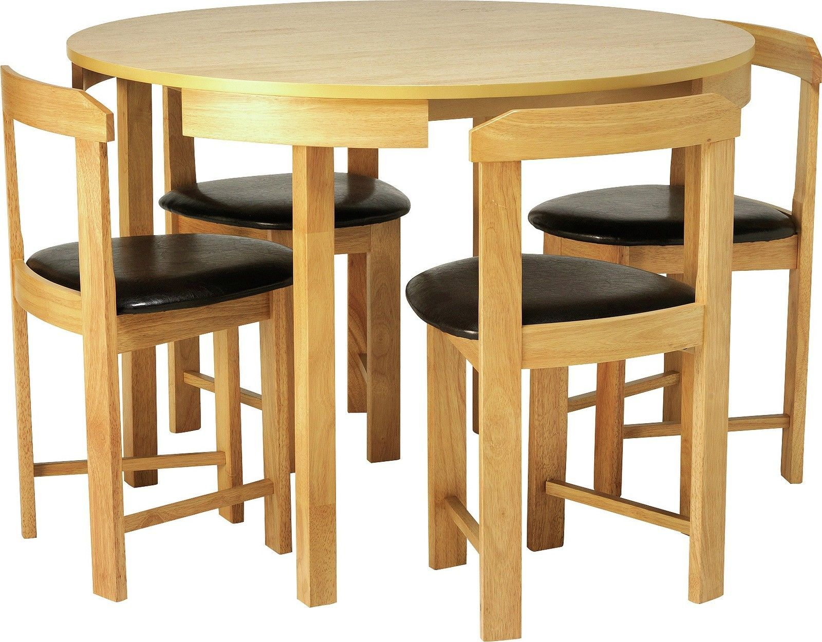 Hygena Alena Circular Dining Table And 4 Chairs Choice Of Colour