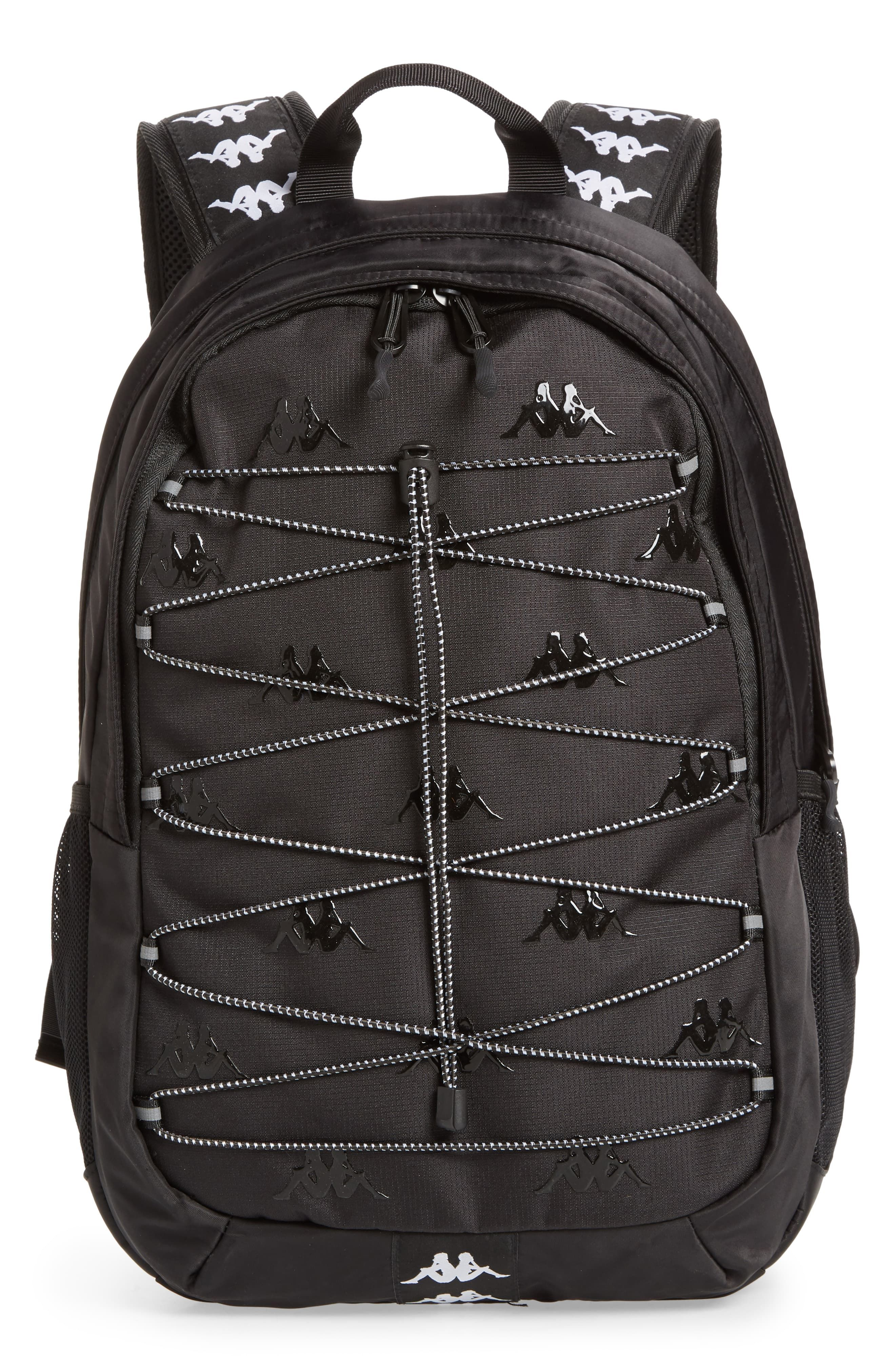 gonna Unravel Costretto  Men's Kappa Backpack - Black | Black backpack, Backpacks, Mens accessories