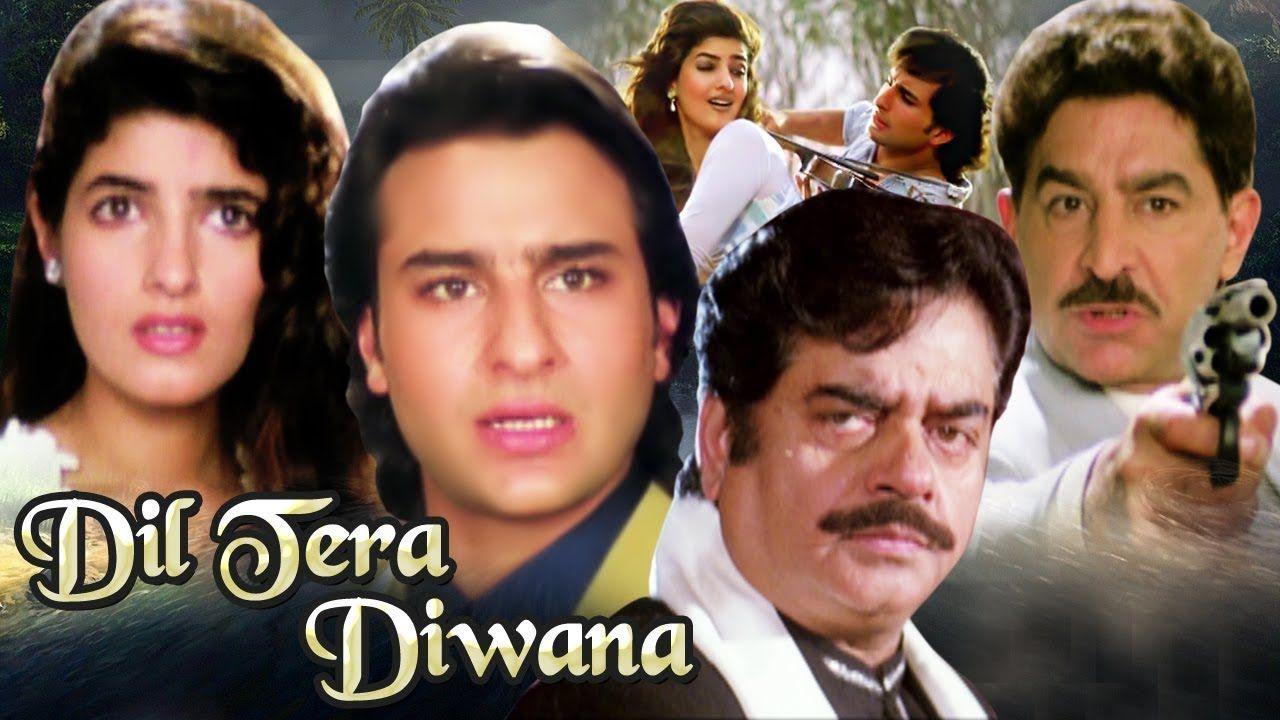 Dil Tera Diwana 1996 Movie Bollywood Hindi Film In 2020 Hindi Film Bollywood Movies Hindi Bollywood Movies