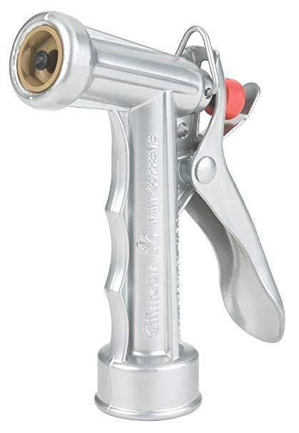 Hose Spray Nozzle >> 5 Pack Gilmour Metal Pistol Grip Water Hose Spray Nozzle