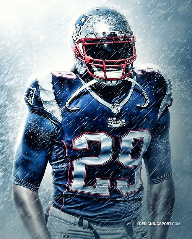 LeGarrette Blount, New England Patriots DesigningSport