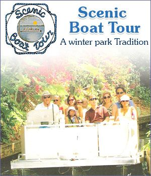 Easy, Inexpensive and Exciting, Winter Park's Scenic Boat Tour in a Natural Attraction