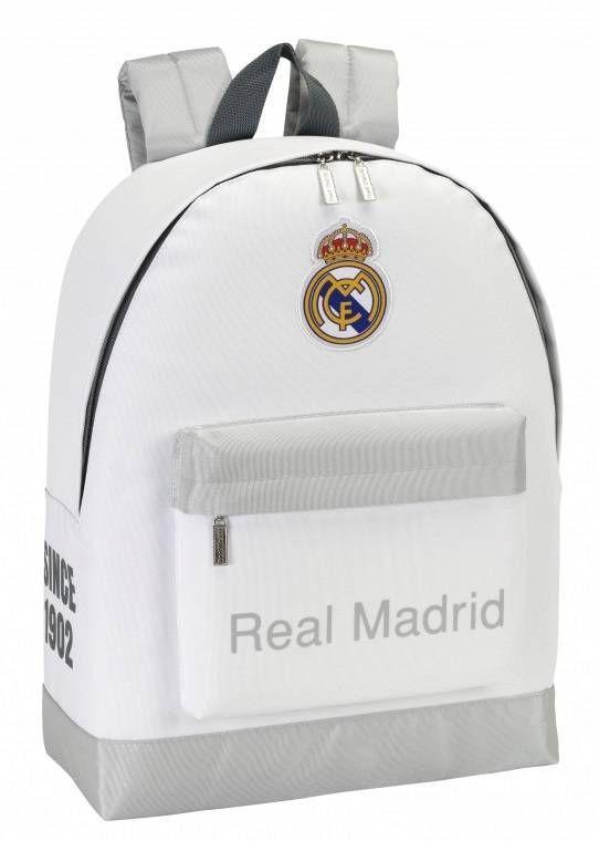 ea33d4fb1af Real Madrid - Daypack - Rugzak - 43 cm - Wit #laliga #voetbal  #premierleague #cadeau #voetbalkids