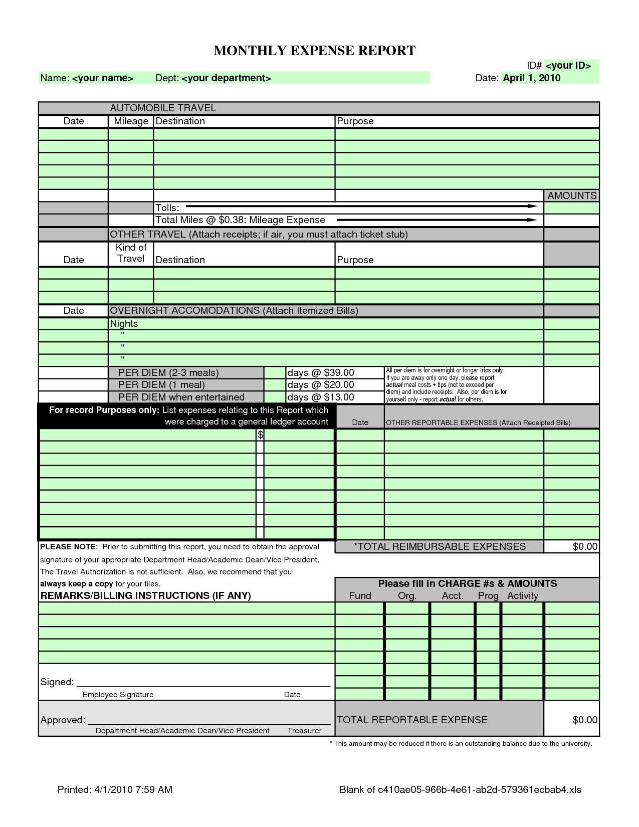 Expense Report Template Xls Best Template Ideas Spreadsheet Template Monthly Expenses Excel Spreadsheets Templates
