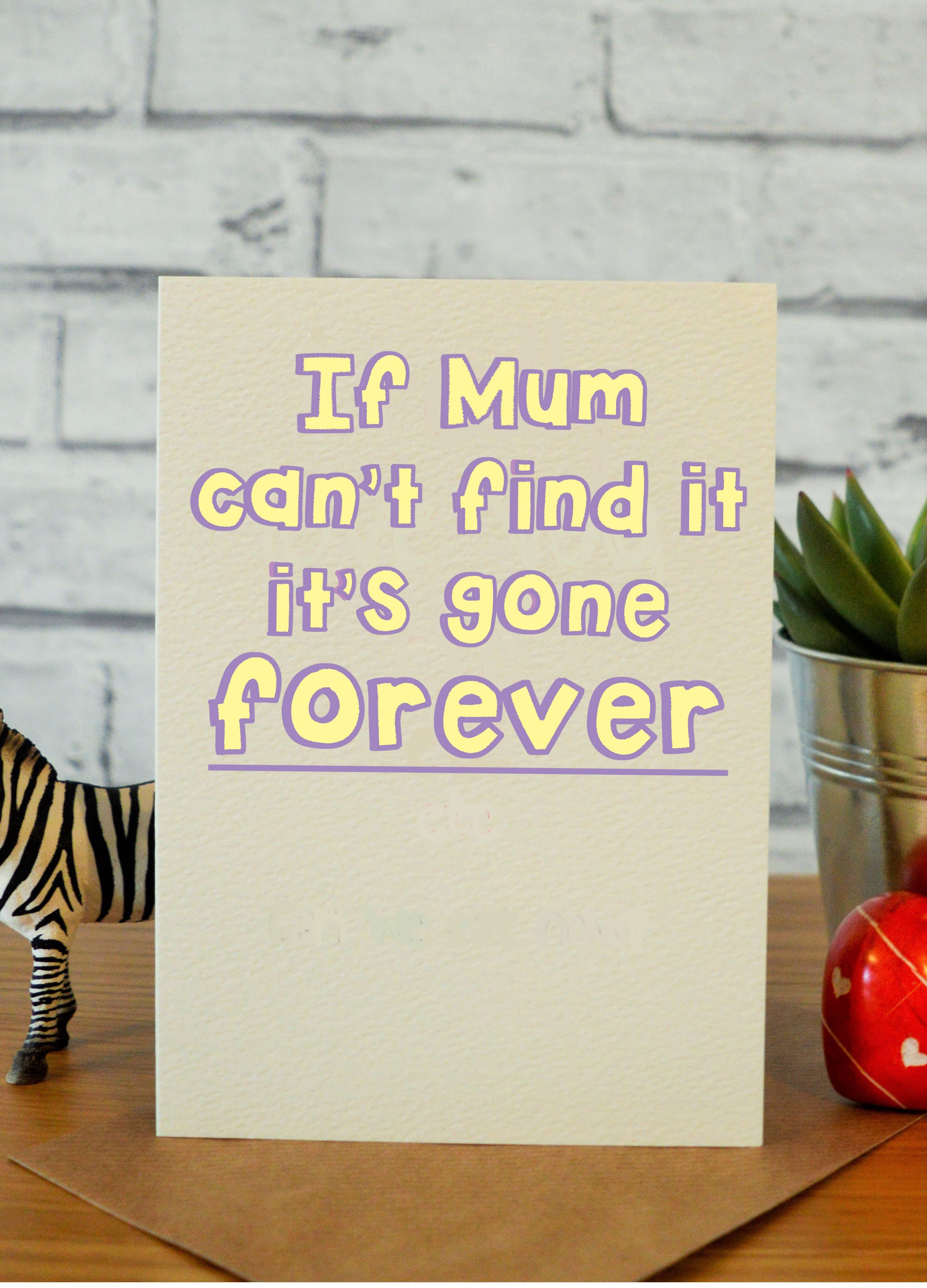 Funny mothers day card mothers day gifts gift for mum mum