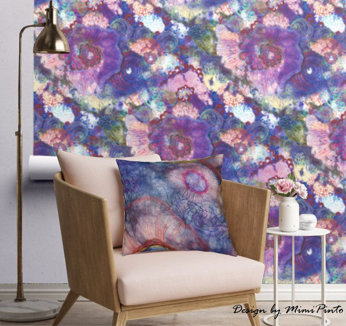 Chic Contemporary Modern Wallpaper Modern Contemporary With A Hint Of Whimsical Contemporary Chic