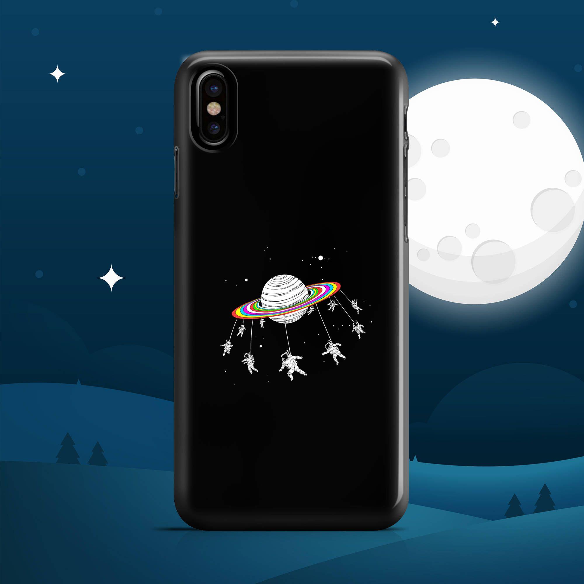 iphone x case swing ride saturn iphone 6 case iphone 7 case iphone 8 case iphone 8 plus case. Black Bedroom Furniture Sets. Home Design Ideas