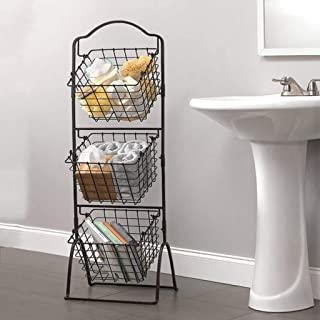 Amazon Com Storage Baskets With Images Small Bathroom Storage