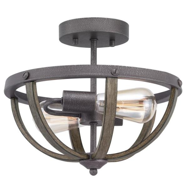 The Home Depot Logo in 2020 Farmhouse flush mount light