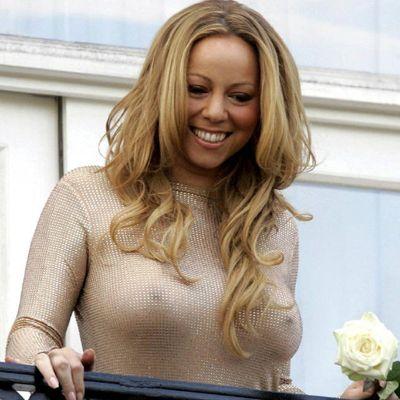 Carey slip Mariah nip