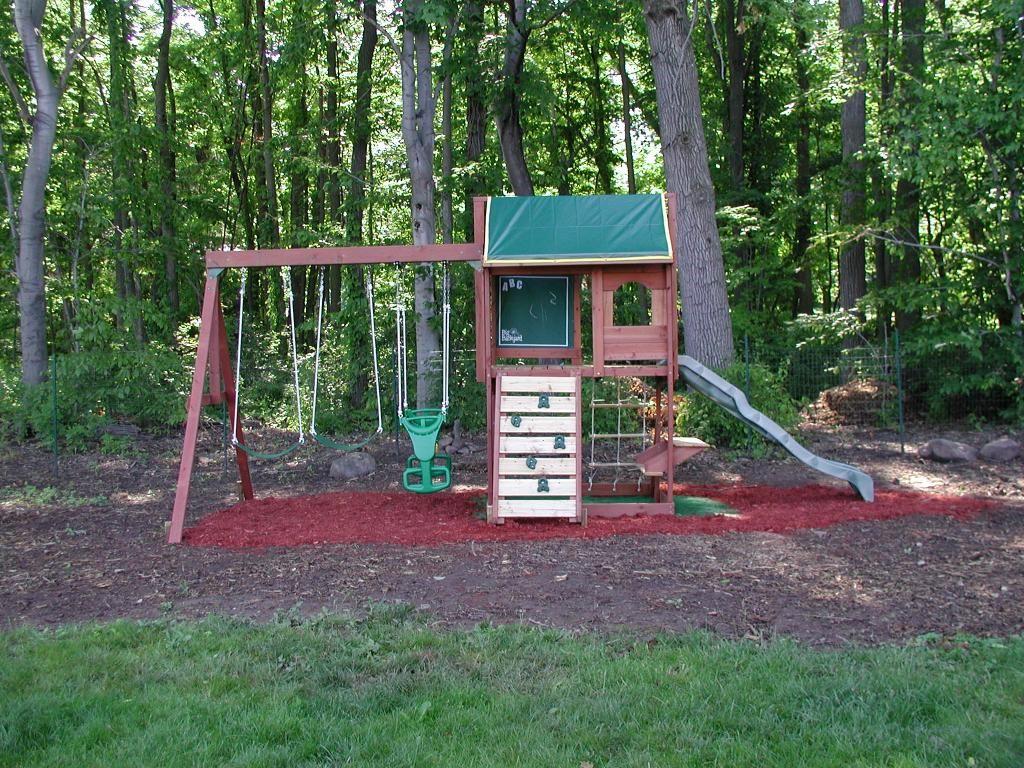 swingset designs | Big Backyard Pine Ridge III Swing Set