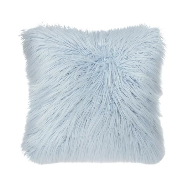 Faux Mongolian Pillow Square In 2019 Roomspiration