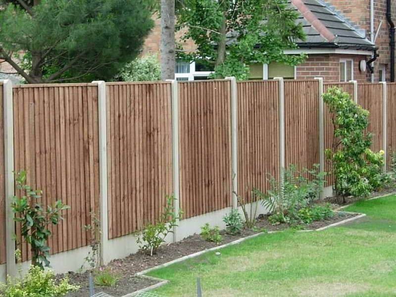 Image of affordable privacy fence ideas garten