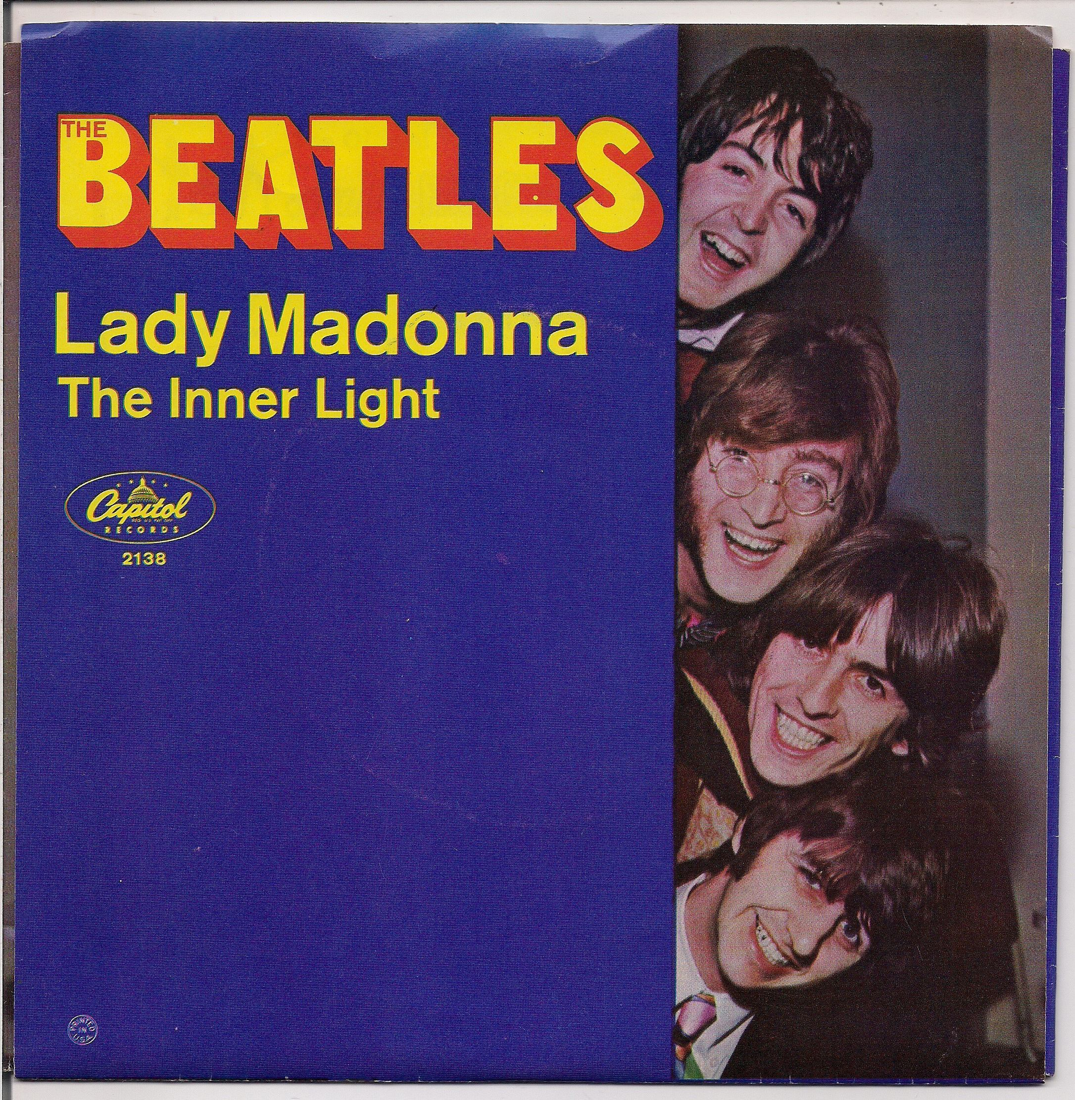 "BEATLEmania! Mint! 7"" Picture Sleeve, Beatles Fan Club PROMO,Lady ..."