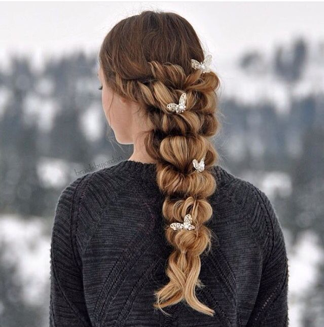 Beautiful braided look --> Subscribe for more pins kdicupe7
