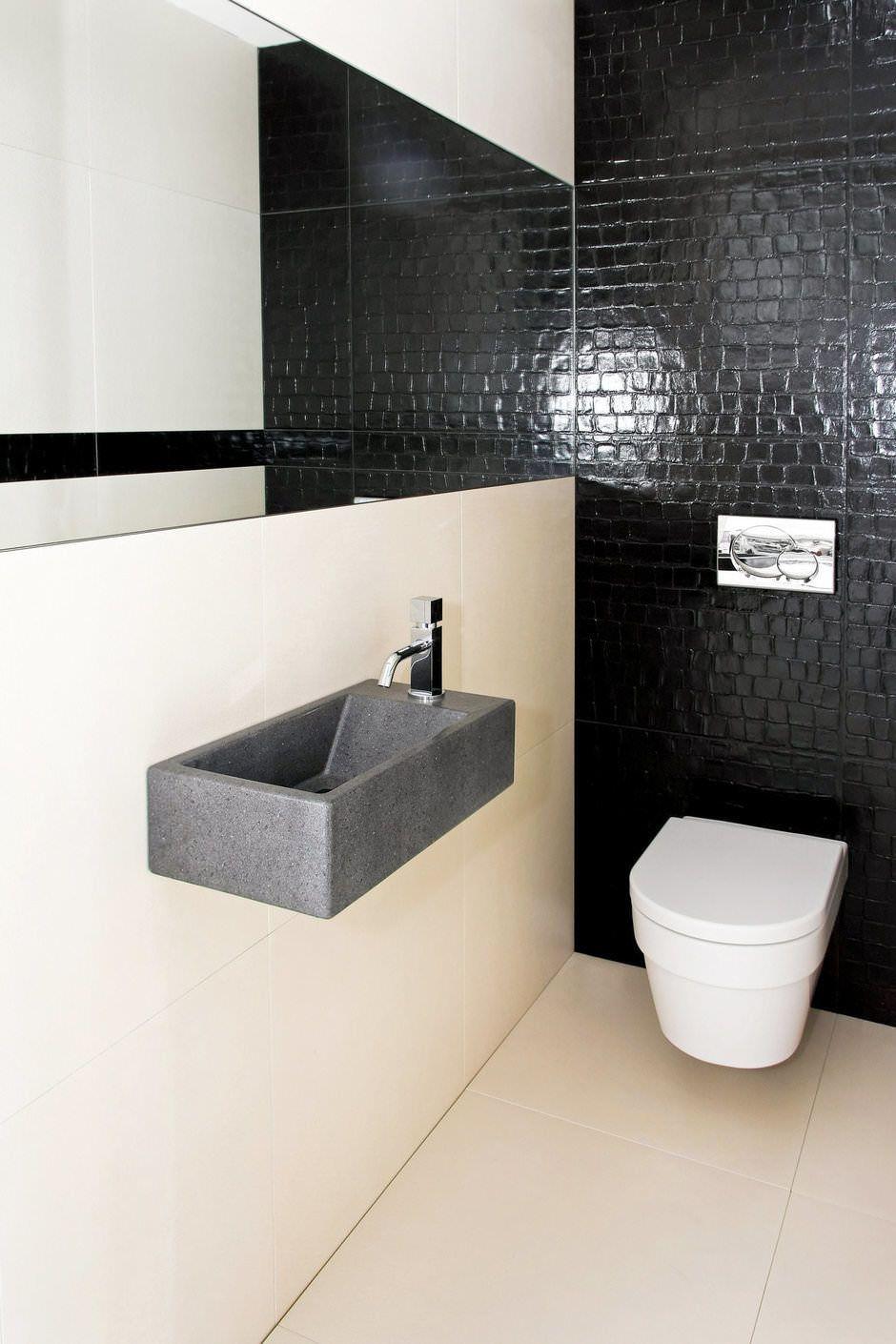 Bagno Moderno Bianco E Nero.50 Idee Per Ristrutturare Un Bagno Piccolo Moderno E Funzionale