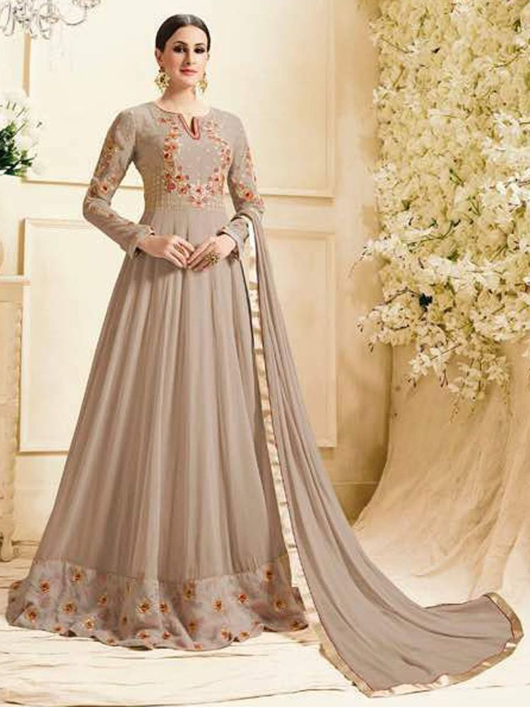 4e0bd4566 new party wear gown bollywood designer fancy look | eBay | Designer ...
