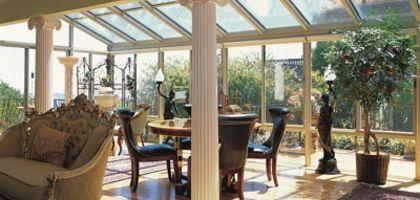 How To Build A Solarium Ehow Patio Room Roof Design Sunroom Windows