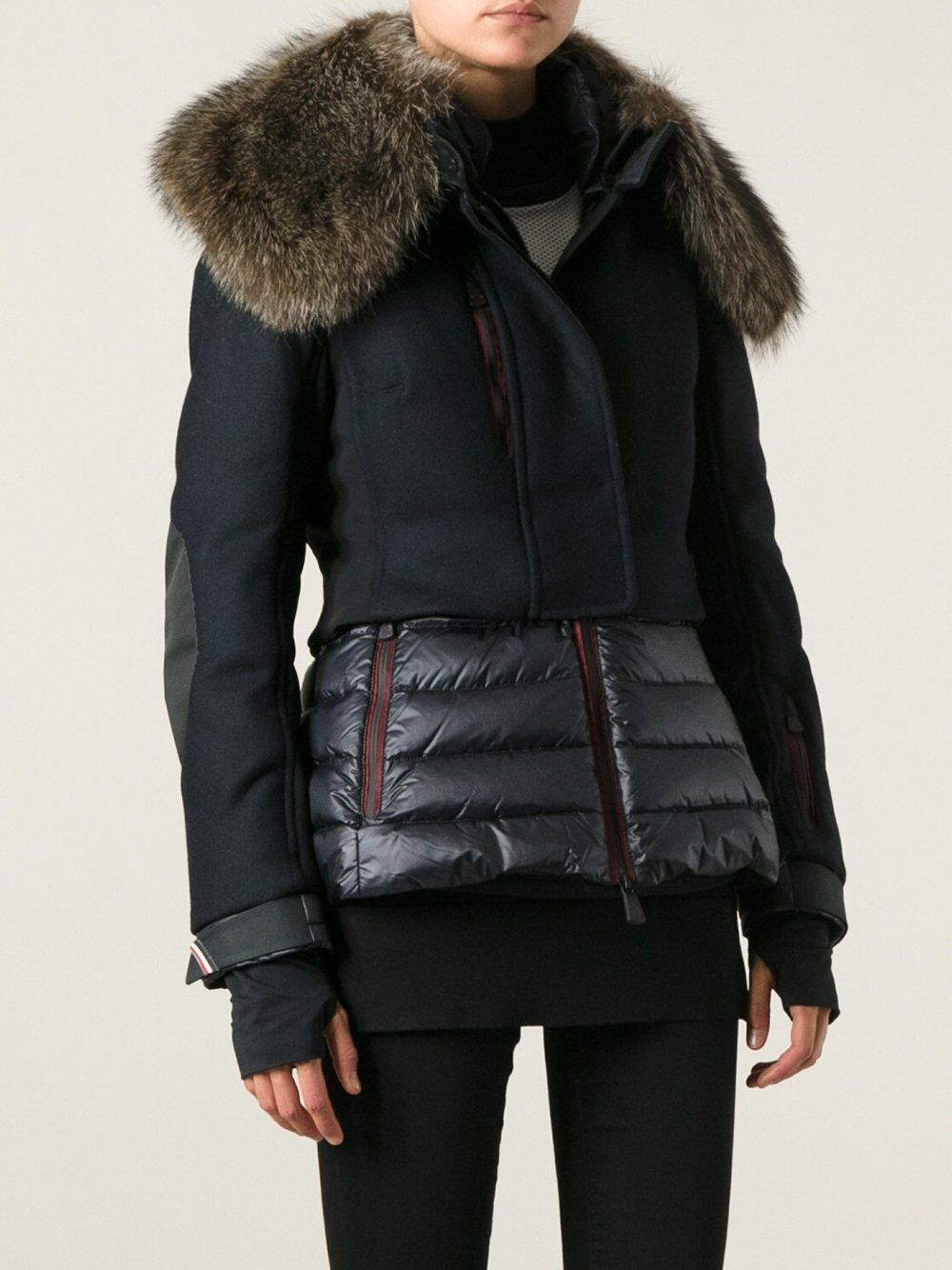 29edbba85 Moncler Grenoble 'Mende' padded ski jacket   Steph Style   Jackets ...