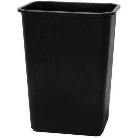 41 Quart Waste Basket Walmart Com Waste Basket Trash Can Trash And Recycling Bin