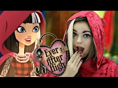 Ever After High's Cerise Hood Costume Makeup Tutorial!