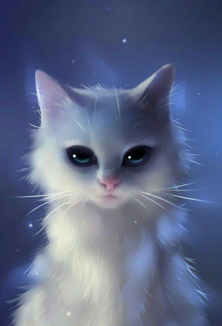 Pin by Abeni ILana on art Cat art, Cute animal drawings