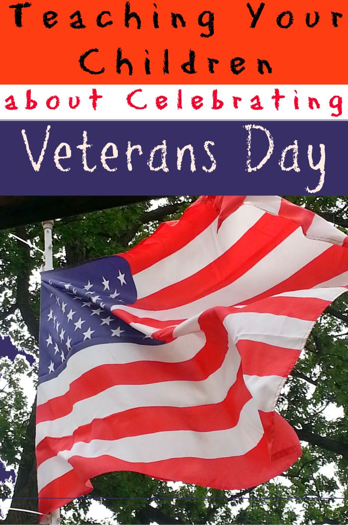 Teaching Your Children About Celebrating Veterans Day