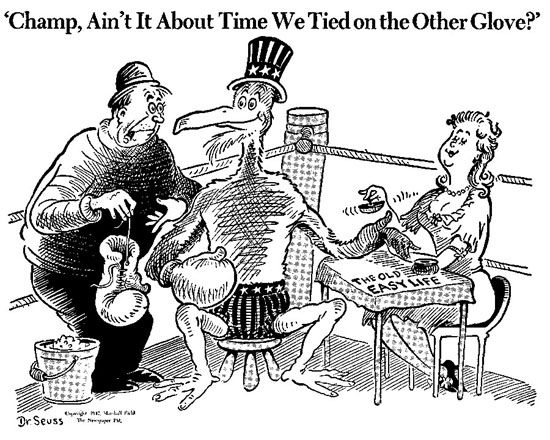 Dr. Seuss Political Cartoon (Note: The posting of this ...