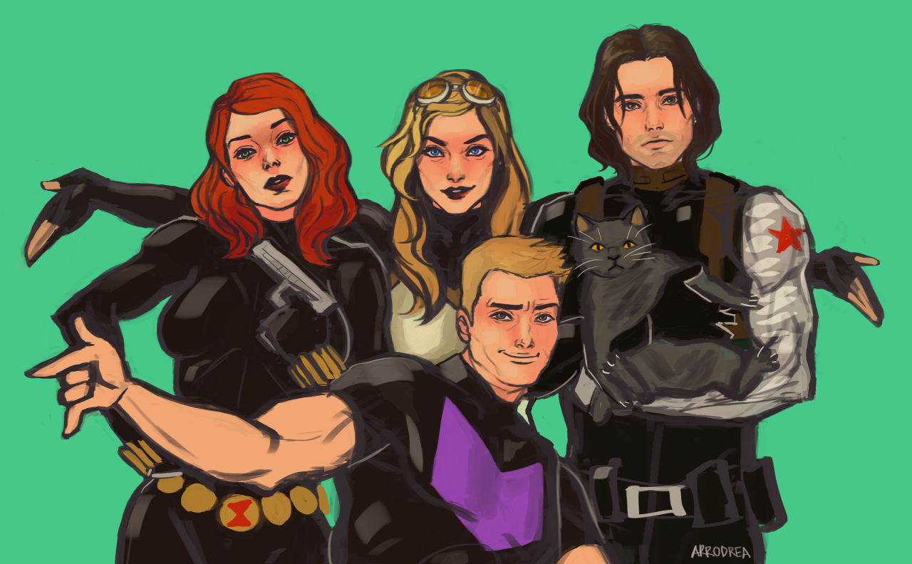 A Year Ender Photo Shoot Of A Dream Team Up Of Black Widow