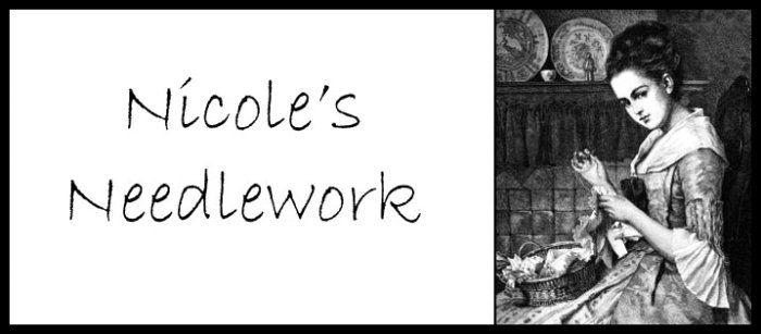 Nicole has a very wonderful stitching blog.