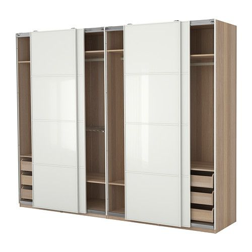 PAX Kleiderschrank mit Einrichtung - IKEA Kleiderschrank - Ikea Schlafzimmer Schrank