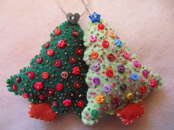 Ventana de Fieltro  Adornos navideños en Fieltro industrial o paño