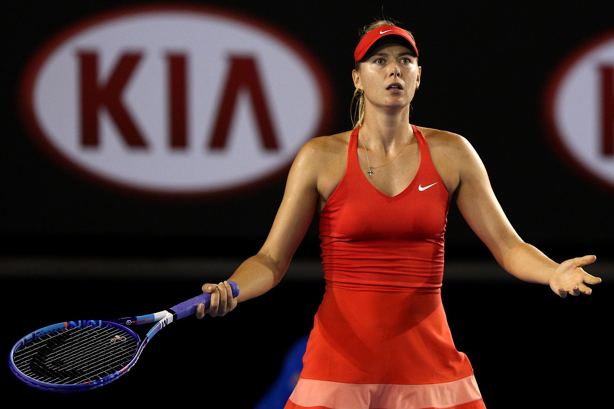 AUSOPEN Maria Sharapova, F, 31 January 2015.  - Getty Images