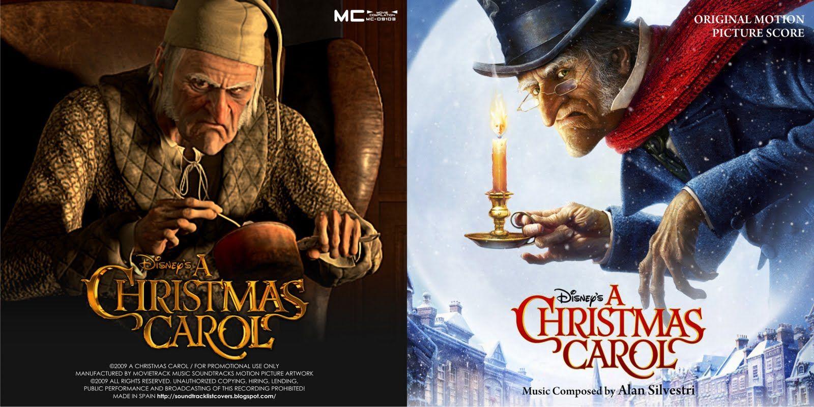 A Christmas Carol Soundtrack.Soundtrack List Covers A Christmas Carol Alan Silvestri Scrooge