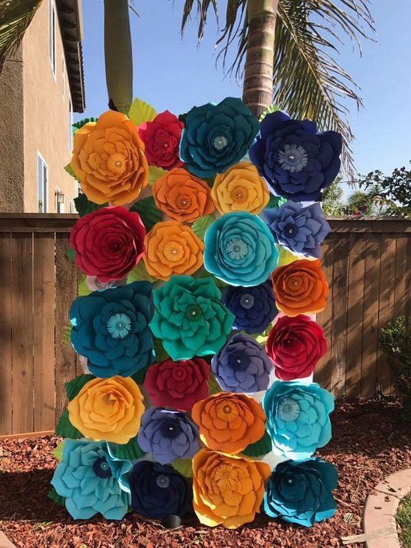 Chula Vista Ca Paper Flowers Mexican Paper Flowers Paper