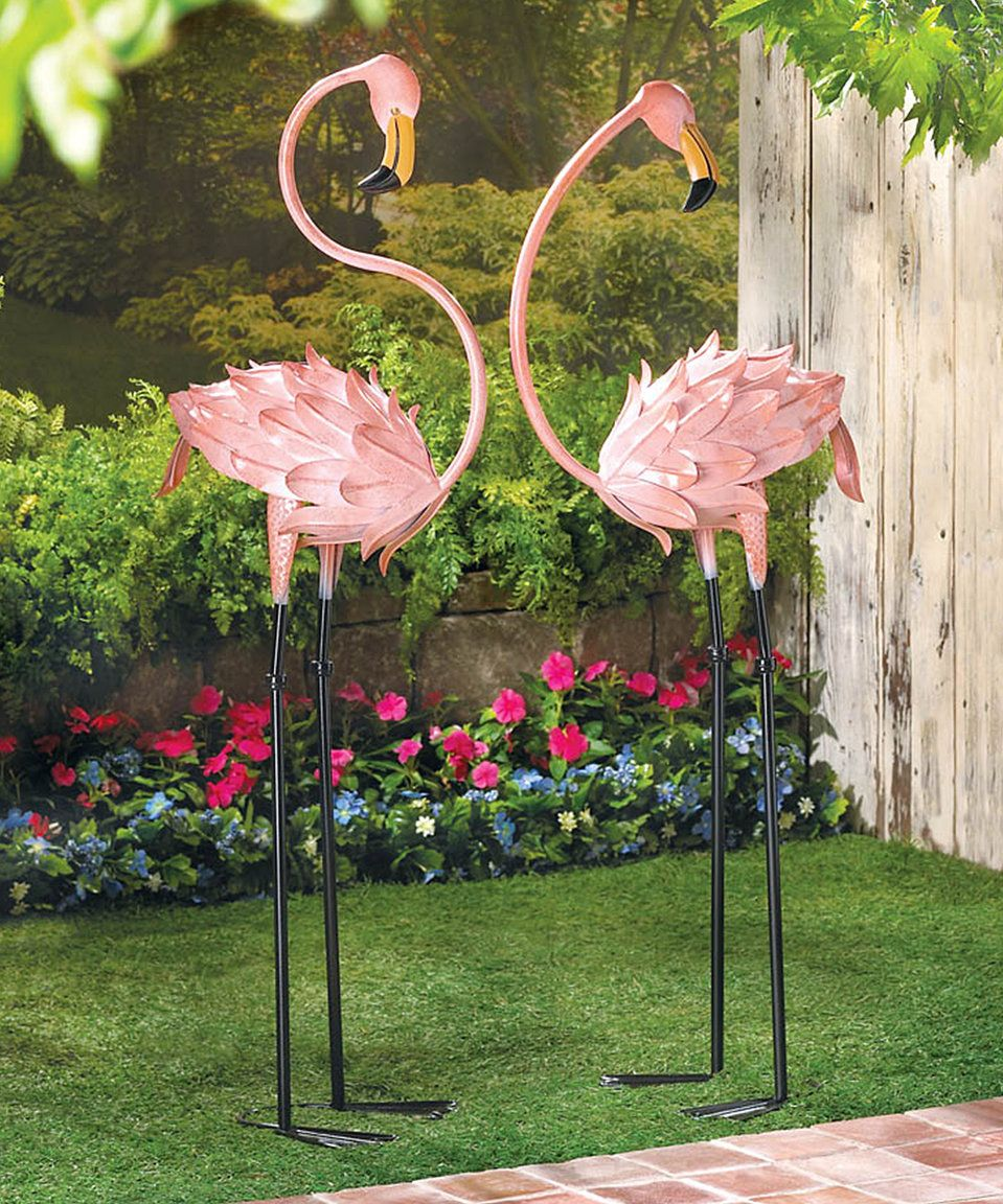 Flamingo · Loving This Flamingo Garden Statue ...