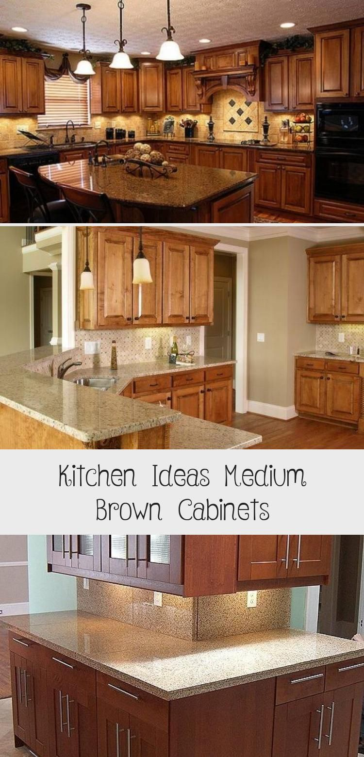 25 Awesome Honed Black Granite Countertop Ideas For ... on Black Granite Countertops With Brown Cabinets  id=68733