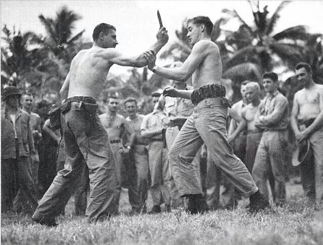Us Marine Raiders Training In Hand To Hand Combat