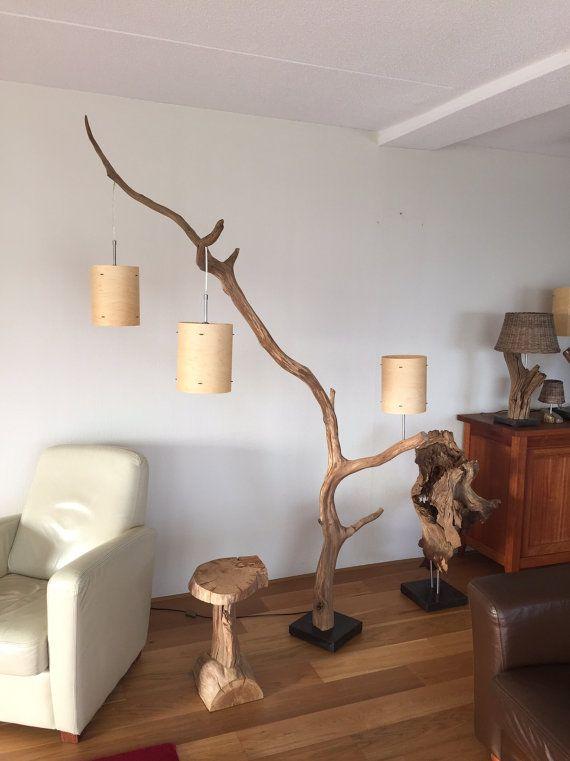 Lámpara único piso lámpara de arco con tres por GBHNatureArt