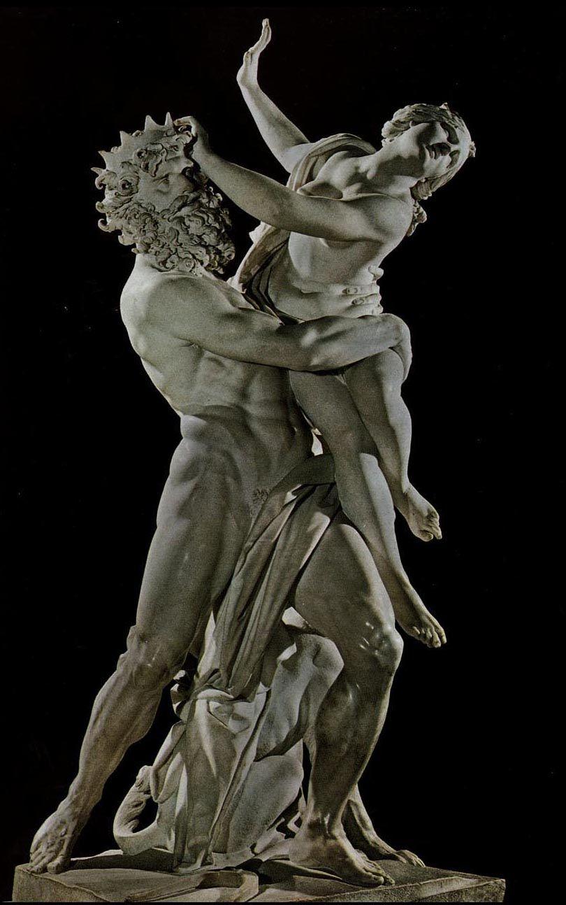 Bernini - Pluto rooft Proserpina marmer 225 cm 1621-22 ...