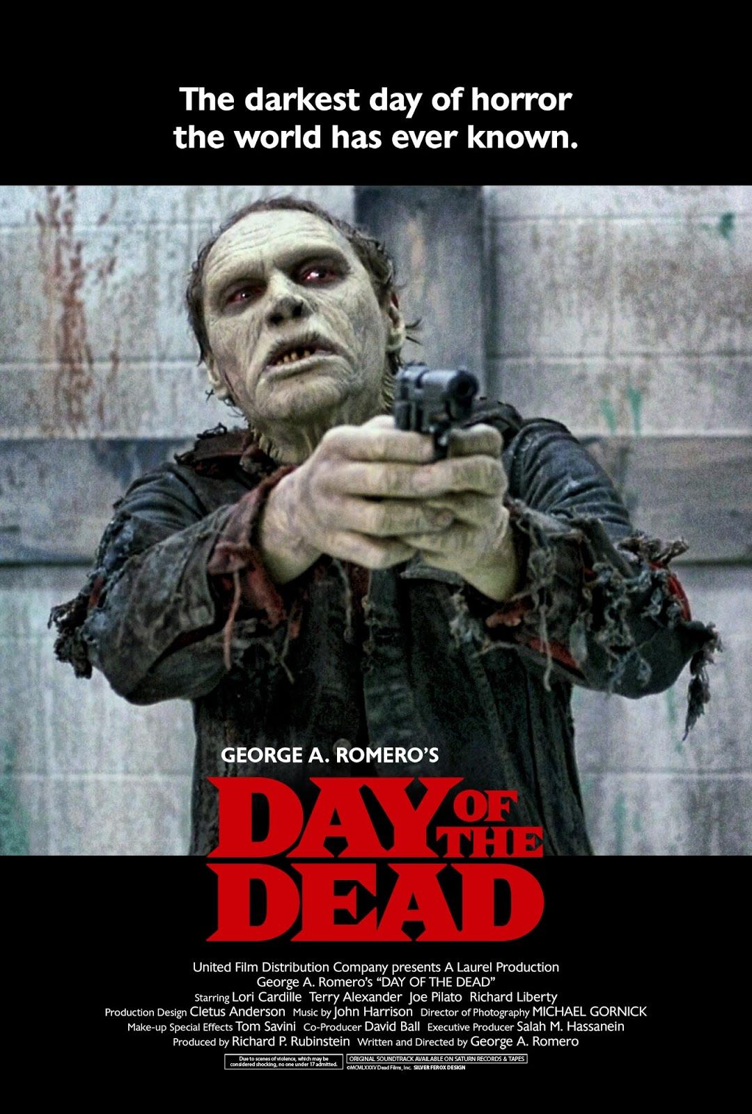 DAY OF THE DEAD Film distribution