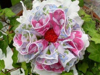 Leslie Janson handmade handkerchief crafts #airfreshnerdolls