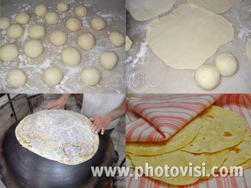 عالم الطبخ والجمال طريقة عمل خبز الصاج في البيت بطريقة سهلة Arabic Food Bread Cooking Recipes