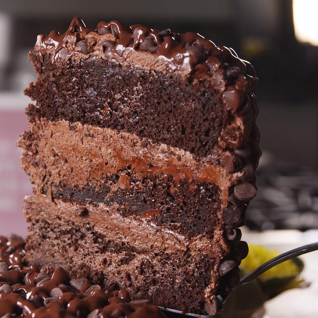 Death By Chocolate Cake #chocolatecake