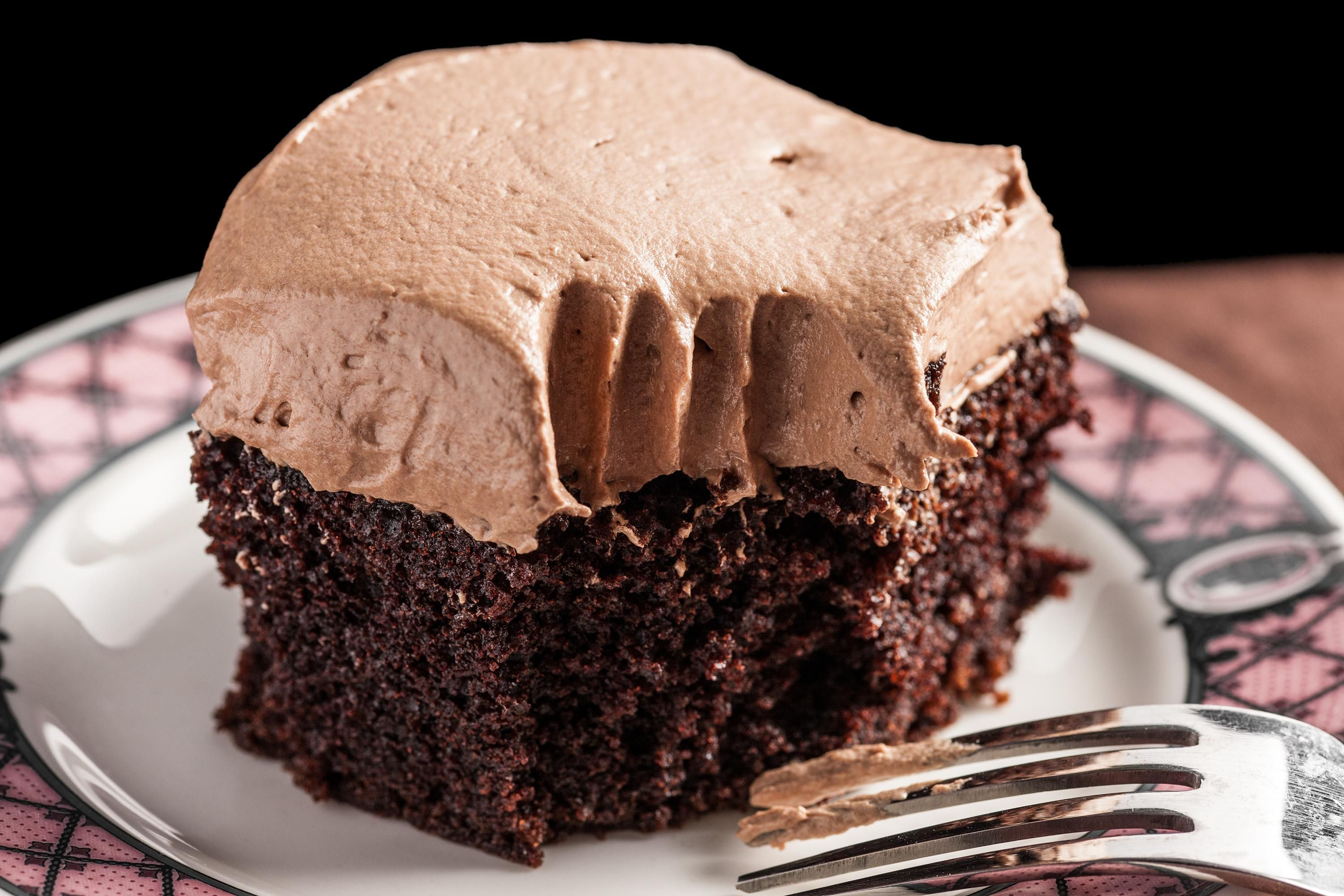 Easy Chocolate Sheet Cake With Mocha Ercream Frosting Recipe And