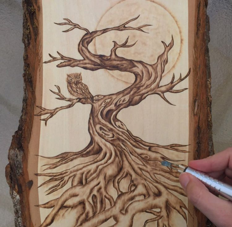 Wood Burn Tree Google Search Ah Ap Da Lama Pinterest
