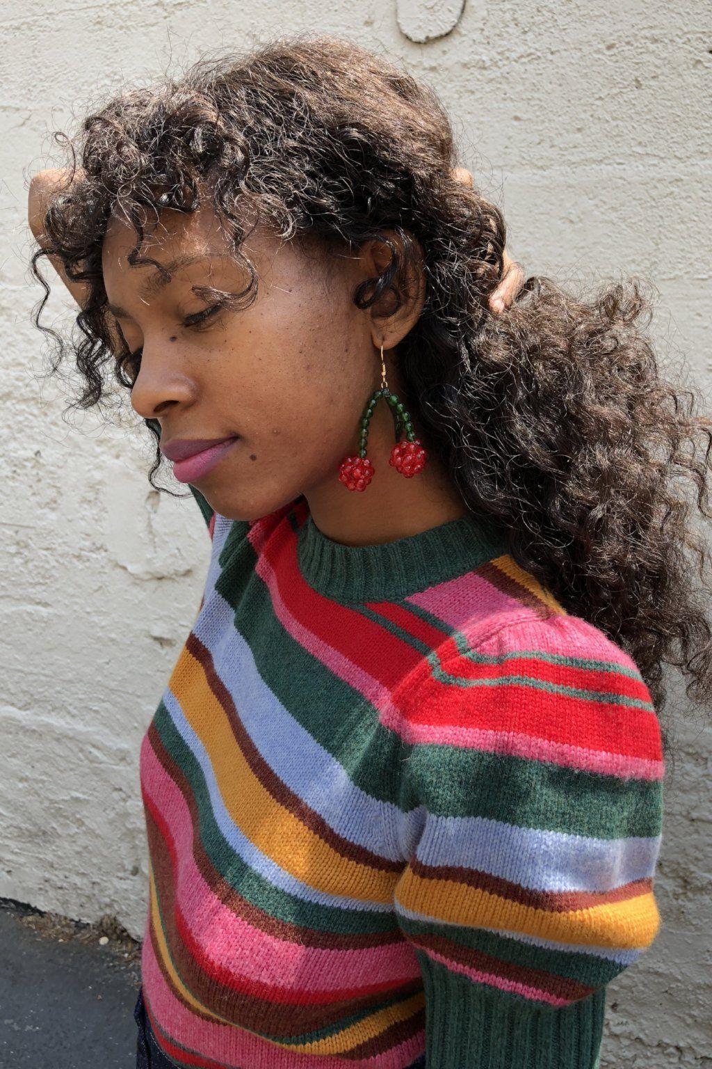 a6fb97fe49fa2 Lolita Earrings - Red Cherry   SHOP   LISA SAYS GAH   Earrings ...