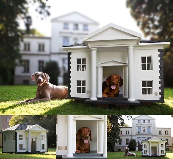 Dog Houses Dog Mansion Luxury Dog House Cool Dog Houses